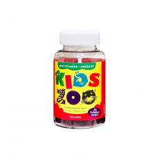 [重庆保税区]Kids Zoo Multit.+Mineraler Vege. 60Stk. 丹麦儿童动物乐园多种维他命+微量元素60粒