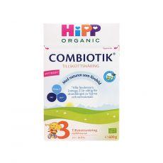 [保税区]Hipp Combiotik 3 Tillskottsnäring Från 12 Månader瑞典喜宝有机益生菌奶粉3段1岁以上 600克