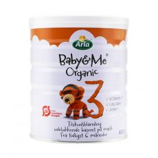 [保税区-新包装]NEW!!!!!ORANGE!! Arla Baby&Me Pulver 3 600g 丹麦阿拉3段600克DHA(新版橙色)